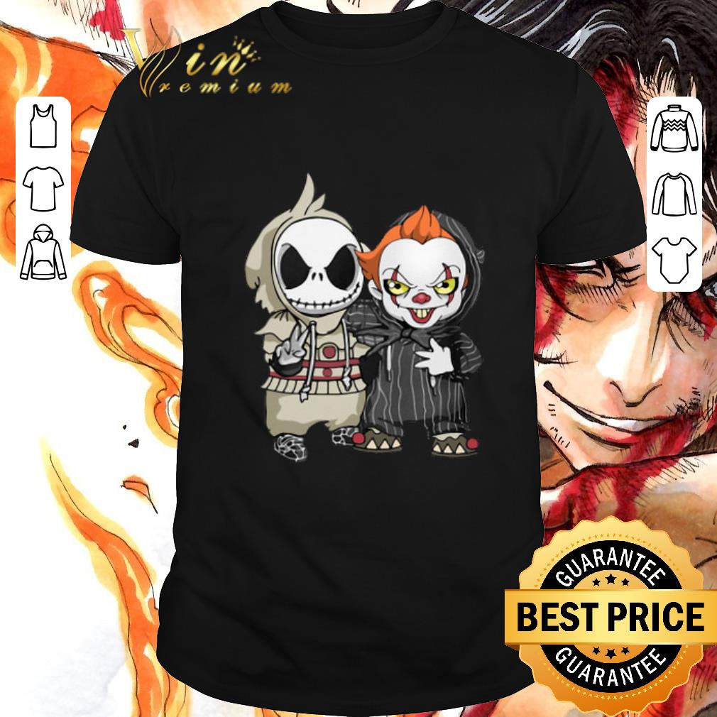 Pretty Baby Jack Skellington and Pennywise shirt