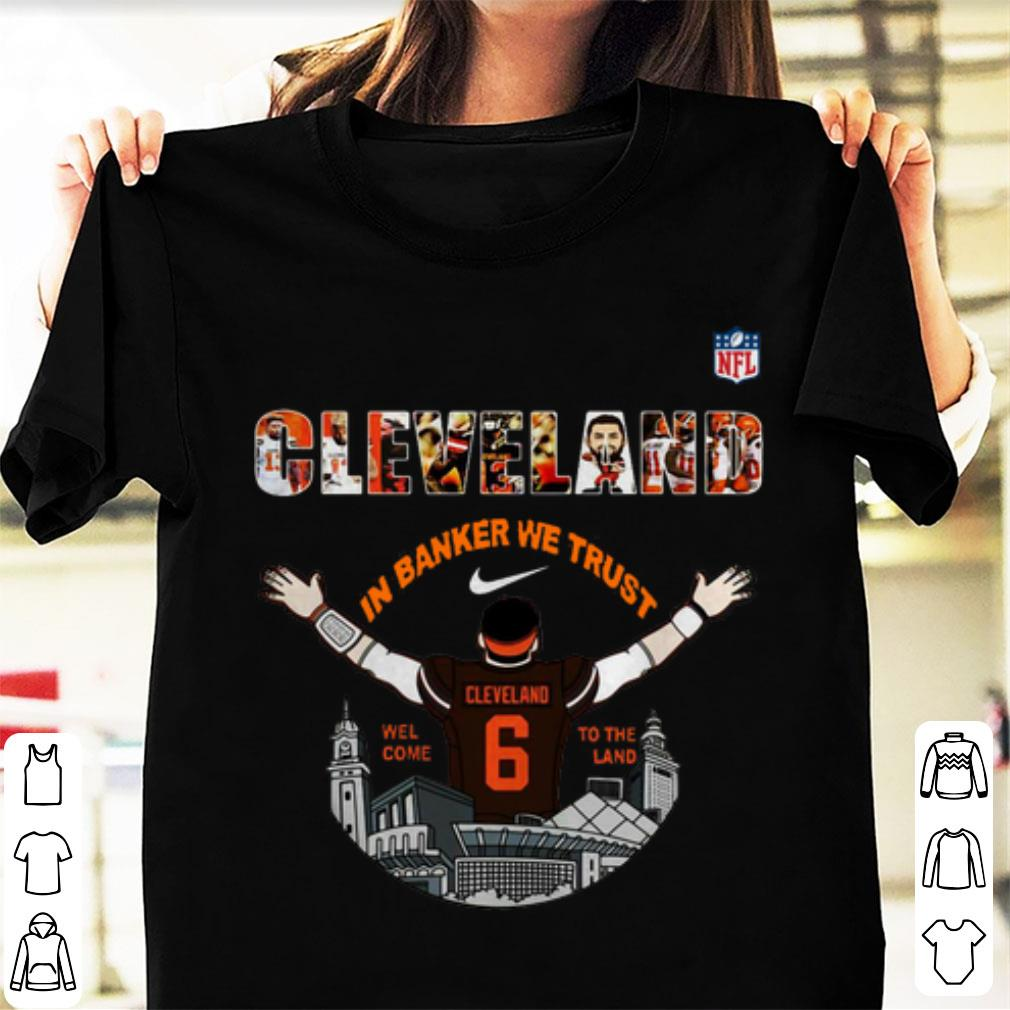 Cleveland Browns Christmas Sweater.Pretty Baker Mayfield Player Cleveland Browns Nfl 2019 Shirt
