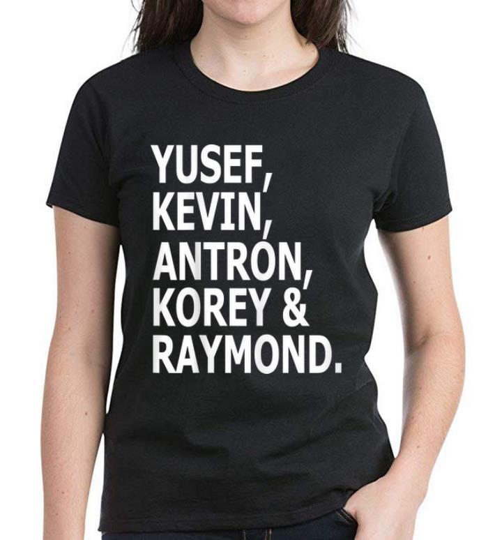 Pretty Yusef Kevin Antron Korey And Raymond shirt