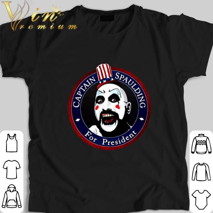 Top Captain Spaulding For President shirt