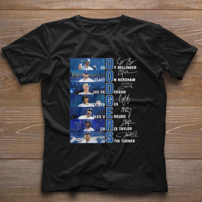 Top Dodgers Cody Bellinger Clayton Kershaw Joc Pederson Corey Seager shirt