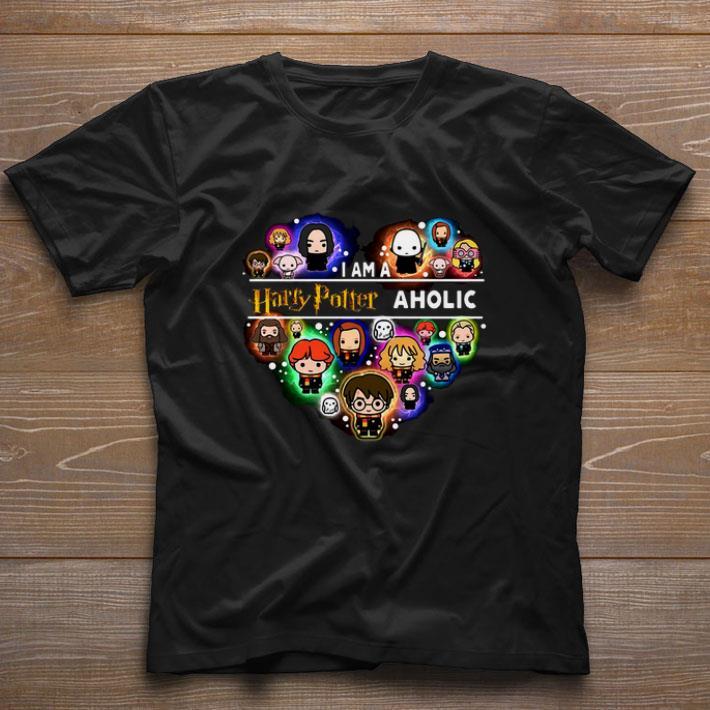 Top I Am A Harry Potter Aholic shirt