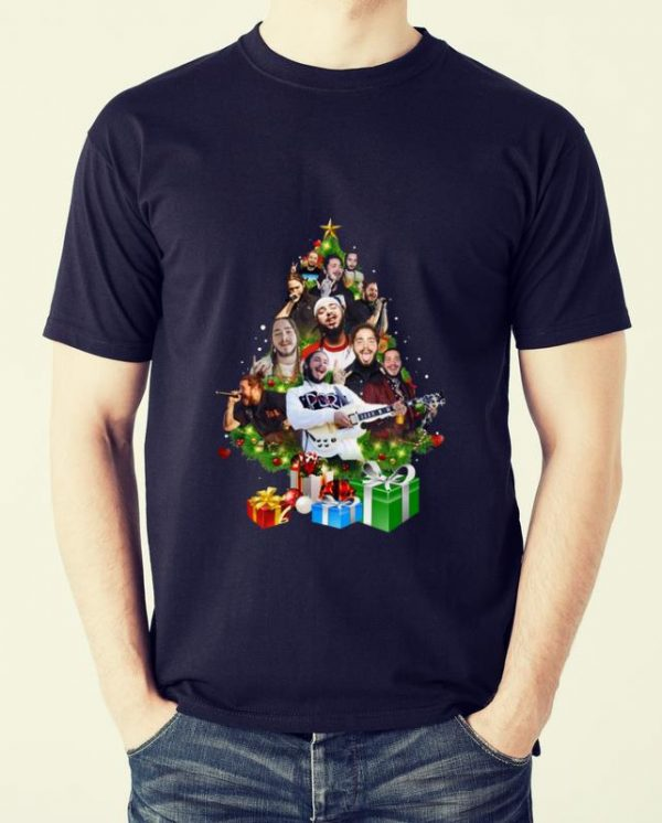 Awesome Christmas Tree Post Malone shirt