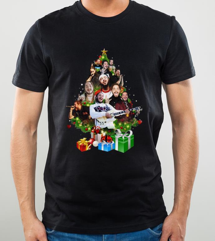 Awesome Christmas Tree Post Malone shirt 4 - Awesome Christmas Tree Post Malone shirt