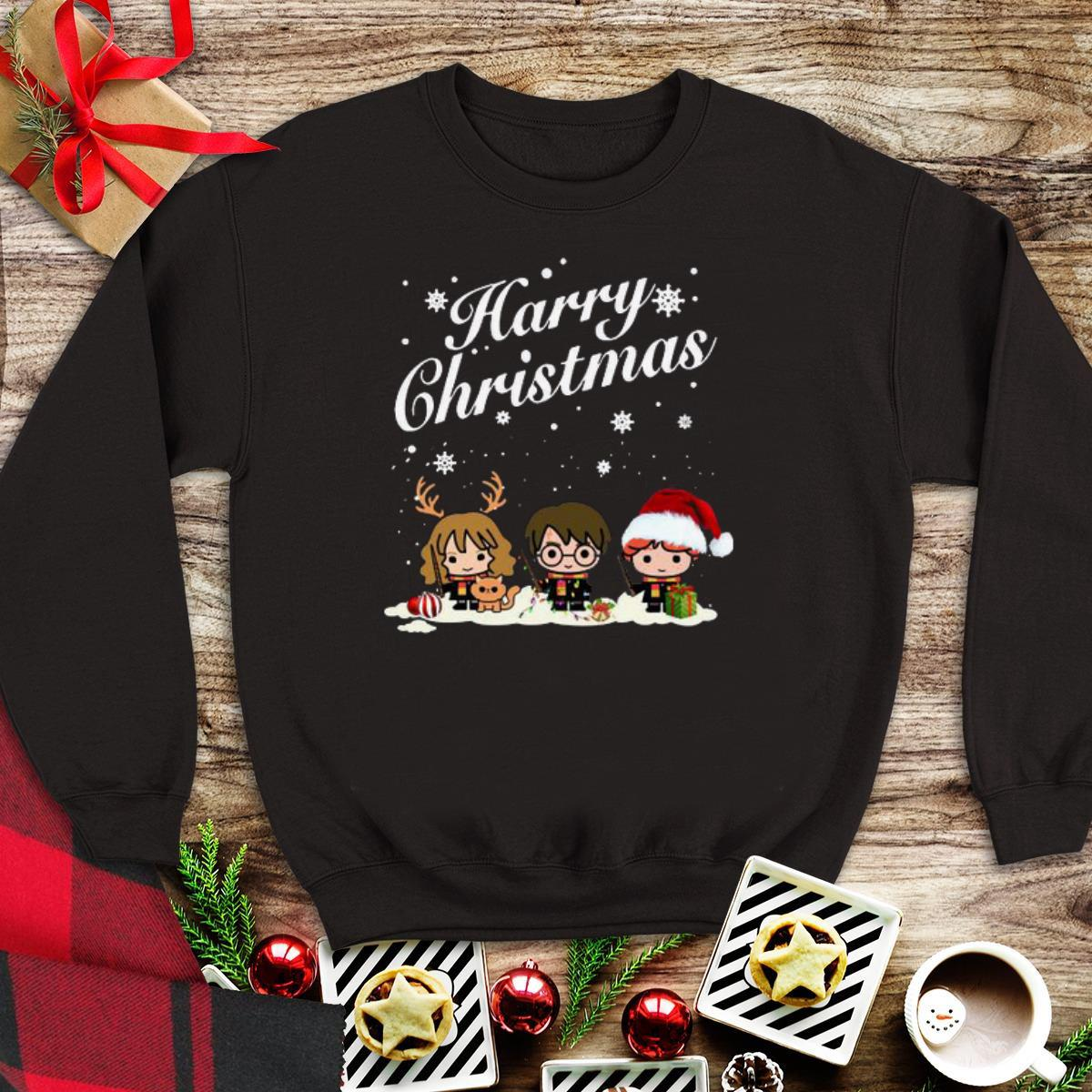 Awesome Hermione Granger And Ron Weasley Harry Christmas Harry Potter shirt 1 - Awesome Hermione Granger And Ron Weasley Harry Christmas Harry Potter shirt