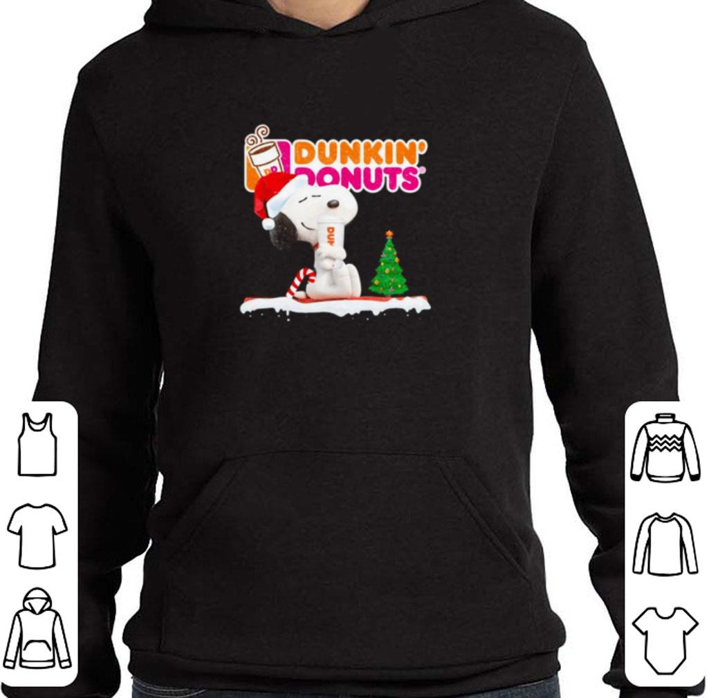 Awesome Snoopy drink Dunkin Donuts Christmas shirt 4 - Awesome Snoopy drink Dunkin' Donuts Christmas shirt