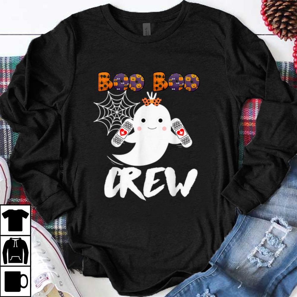 Hot Boo Boo Crew Nurse Halloween Costume shirt
