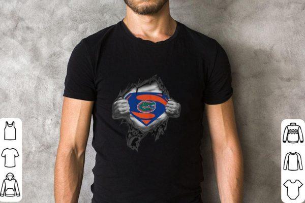 Hot Florida Gators inside me Superman logo shirt