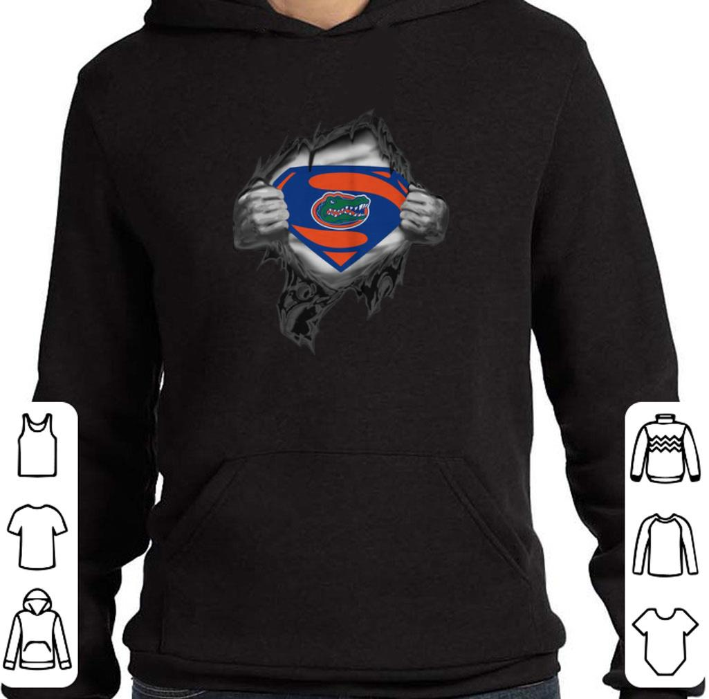 Hot Florida Gators inside me Superman logo shirt 4 - Hot Florida Gators inside me Superman logo shirt