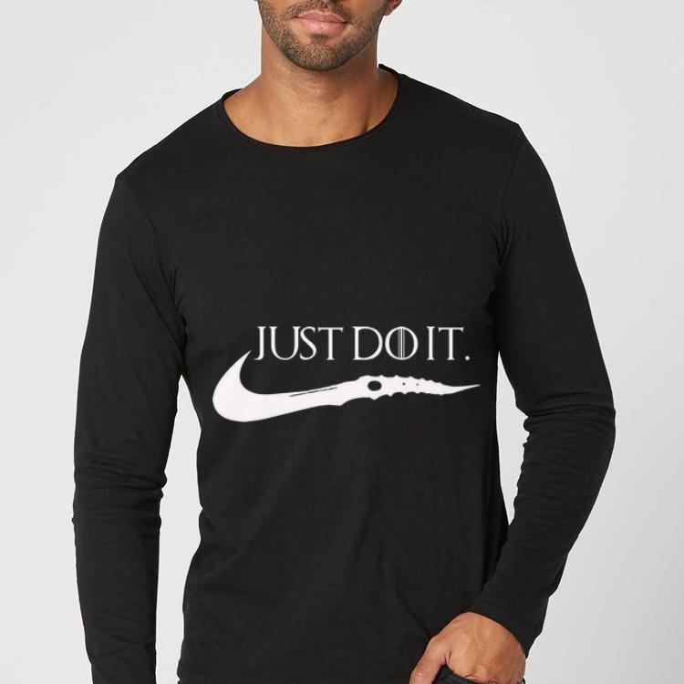 Hot Game Of Thrones Just Do It Nike shirt 4 - Hot Game Of Thrones Just Do It Nike shirt