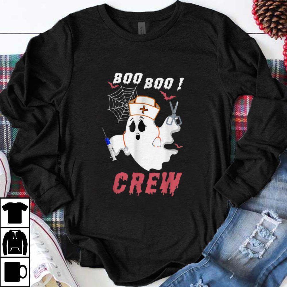 Nice Boo Boo Crew Nurse Ghost Halloween Costume Gift Shirt 1 1.jpg