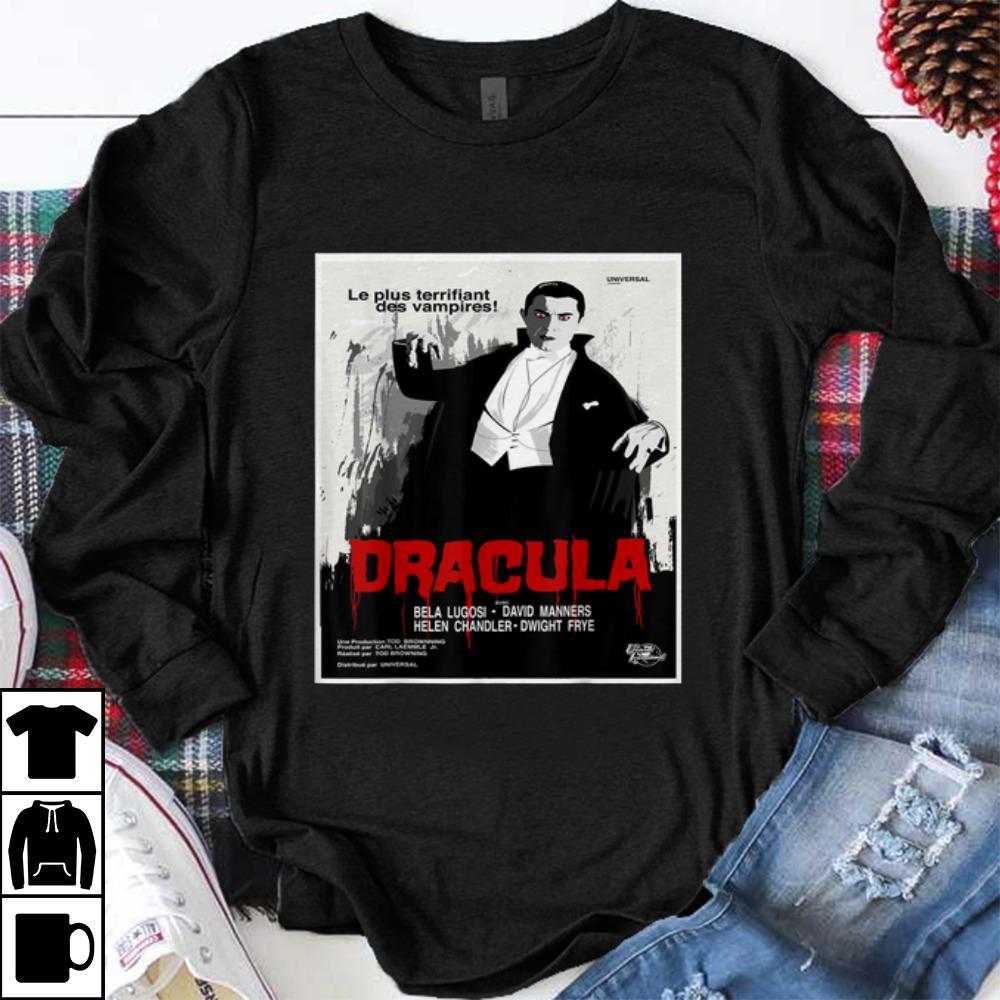 Nice Dracula Movie Art - Vintage Horror Film Poster Tee shirt