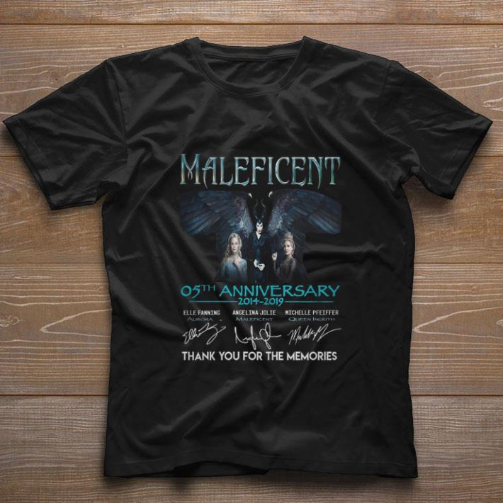 Nice Maleficent 05th anniversary 2014-2019 thank you for the memories shirt