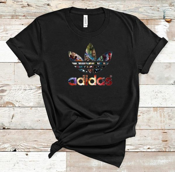 Official Adidas Marvel Character shirt