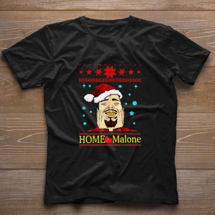 Official Post Malone Home Malone Christmas 2019 shirt