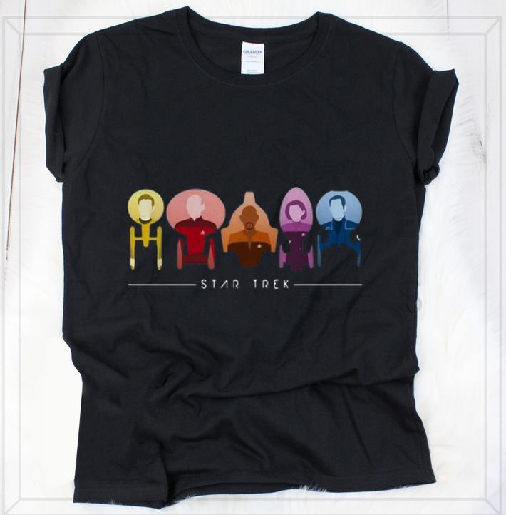 Official Star Trek Starfleet Captains shirt