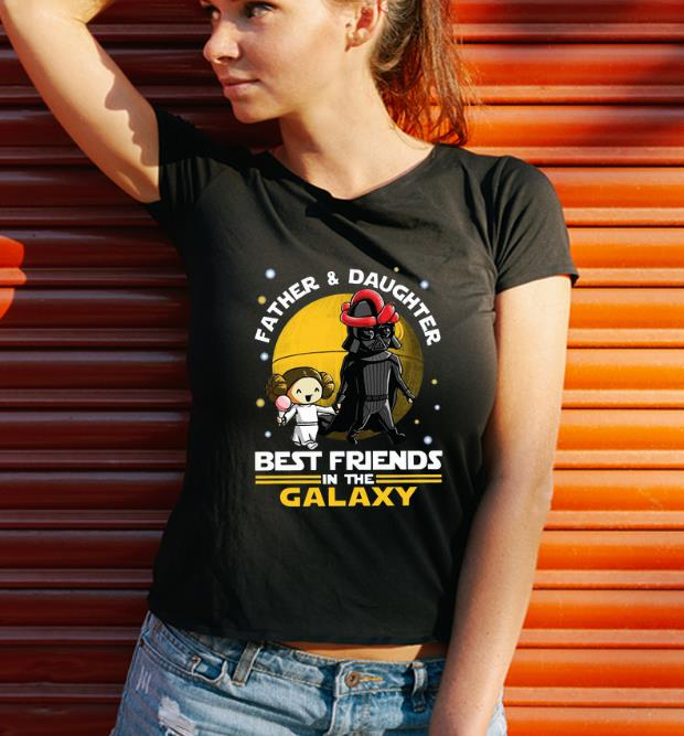 Great Darth Vader And Little Princess Best Friends In The Galaxy Shirt 3 1.jpg