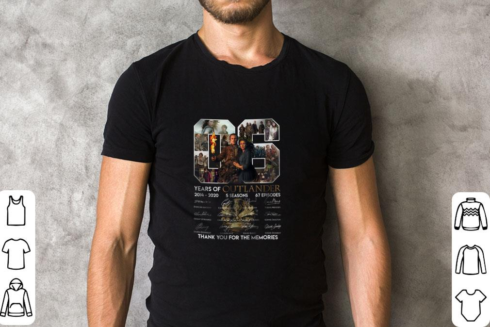 06 Years Of Outlander 2014 2020 Signature Thank You For Memories Shirt 2 1.jpg