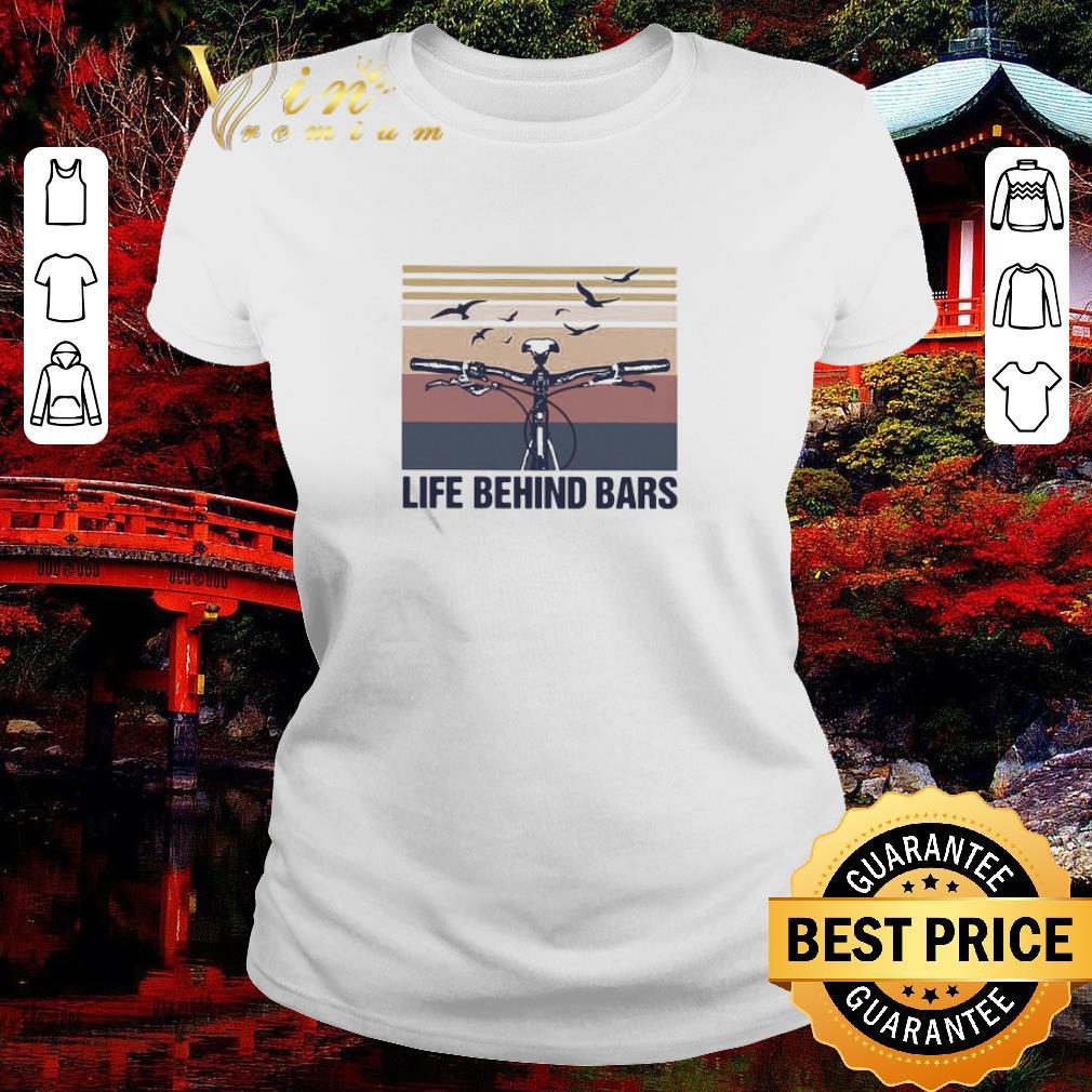 Nice Vintage cycling life behind bars shirt 2