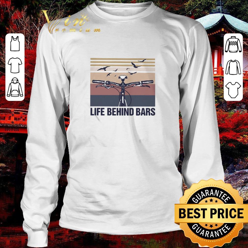 Nice Vintage cycling life behind bars shirt 3