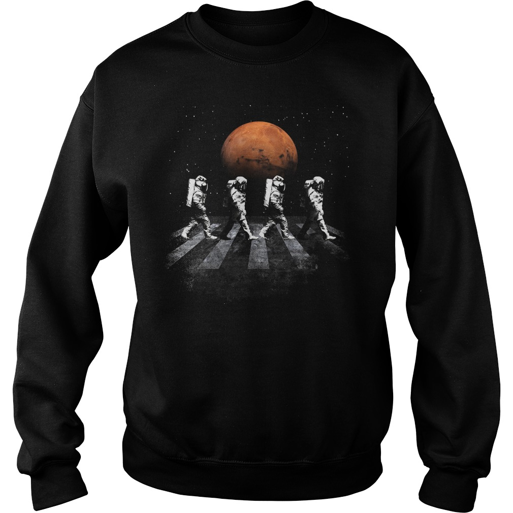 Astronauts In Walking In Space Occupy Mars Sweater