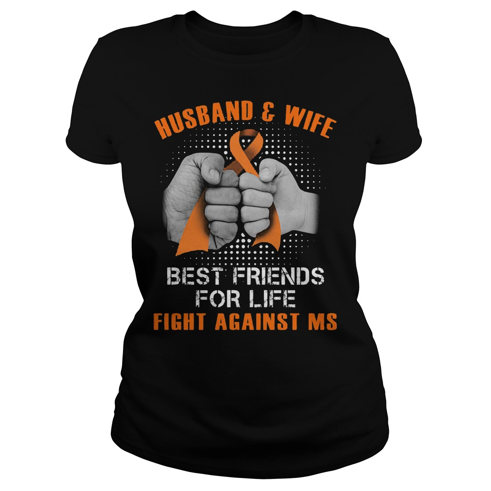 Husband And Wife Best Friends For Life Fight Against Multiple Sclerosis Ladies