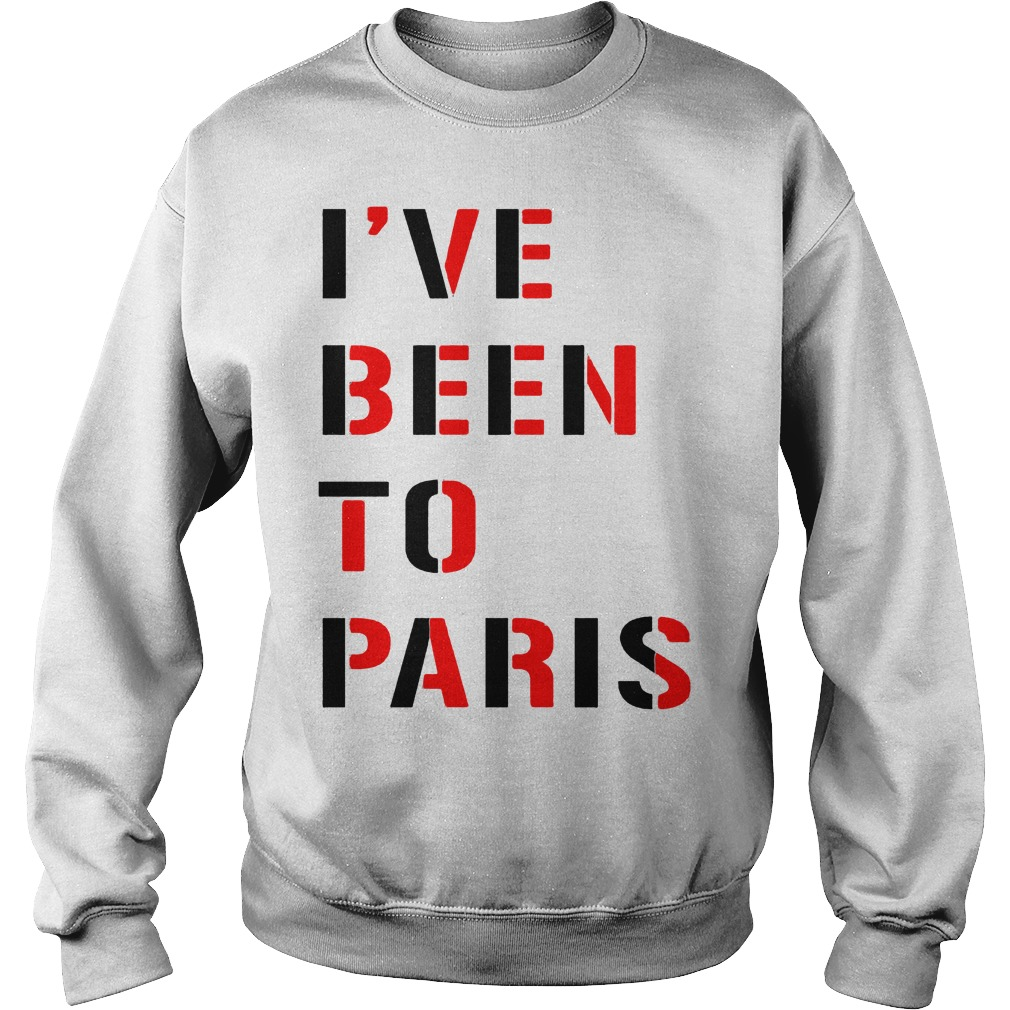 I've Been To Paris Sweater