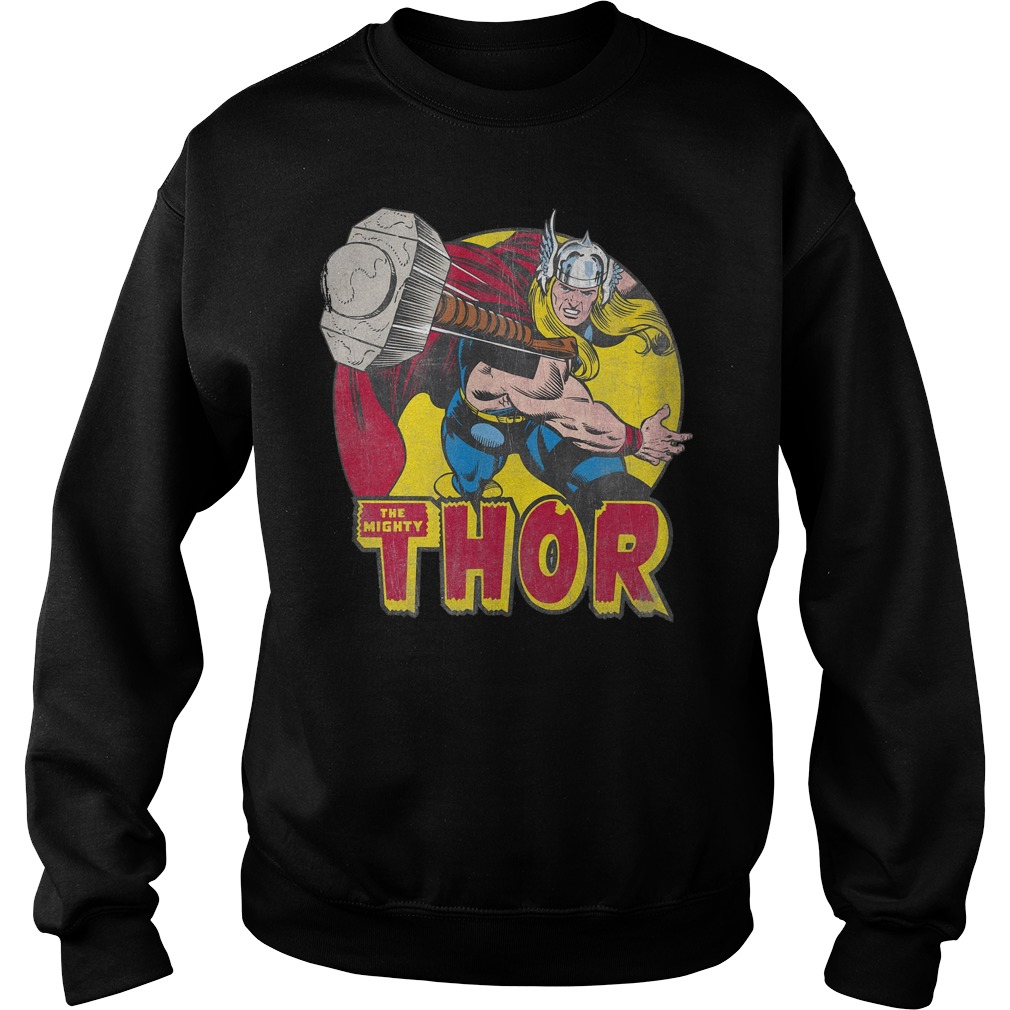 Marvel Mighty Thor Hammer Throw Sweater