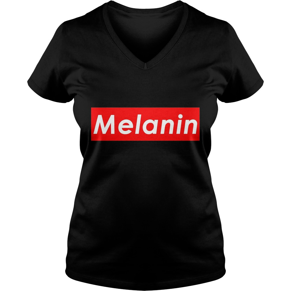 Melanin Strong Pride V Neck