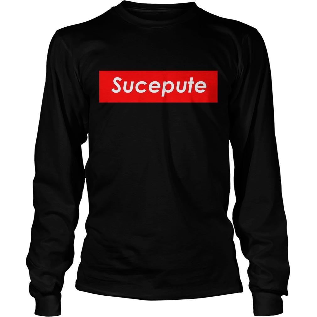 Official Supreme Sucepute Longsleeve
