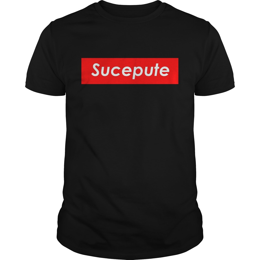 Official Supreme Sucepute Shirt