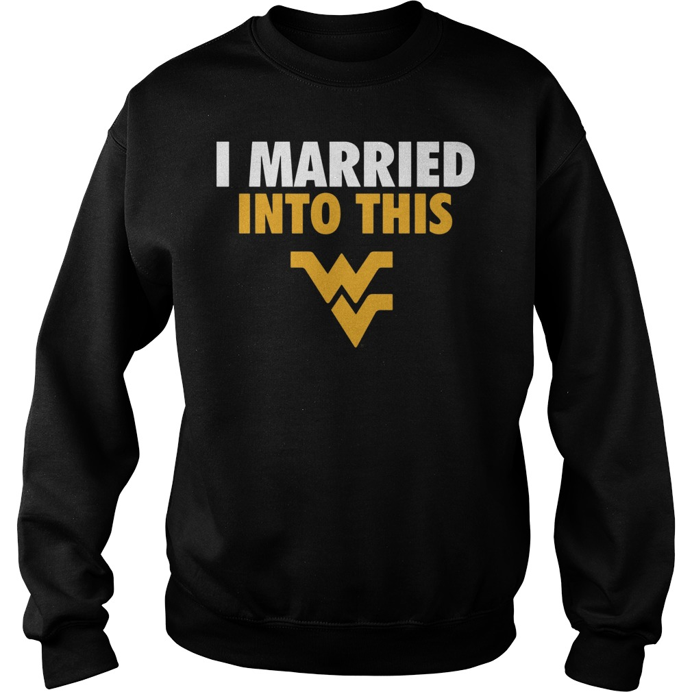 West Virginia Mountaineers I Married Into This Sweater