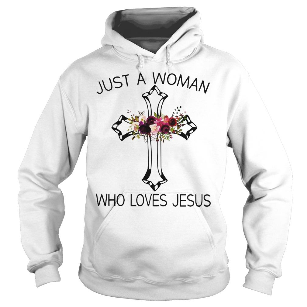 A Woman Who Loves Jesus Hoodie