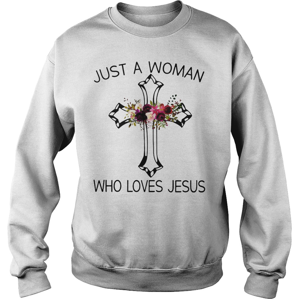 A Woman Who Loves Jesus Sweater
