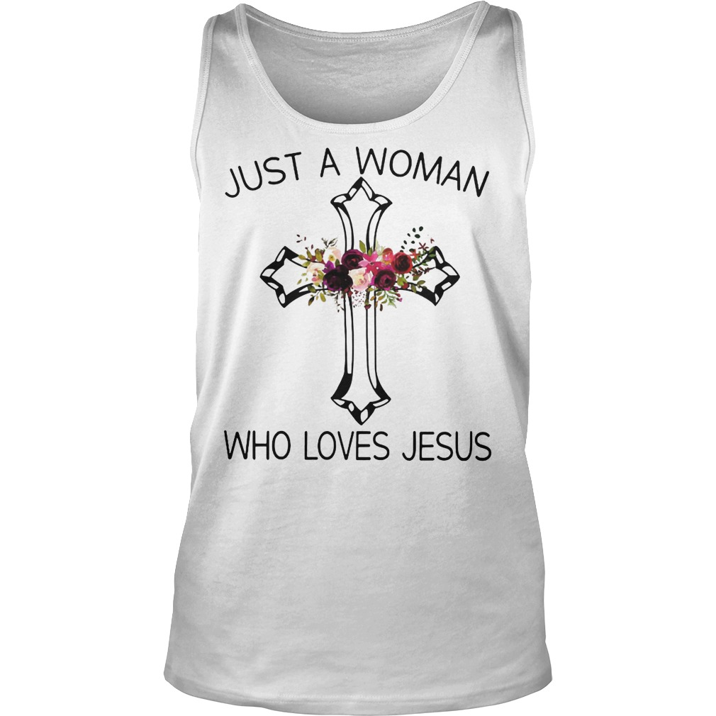 A Woman Who Loves Jesus Tanktop