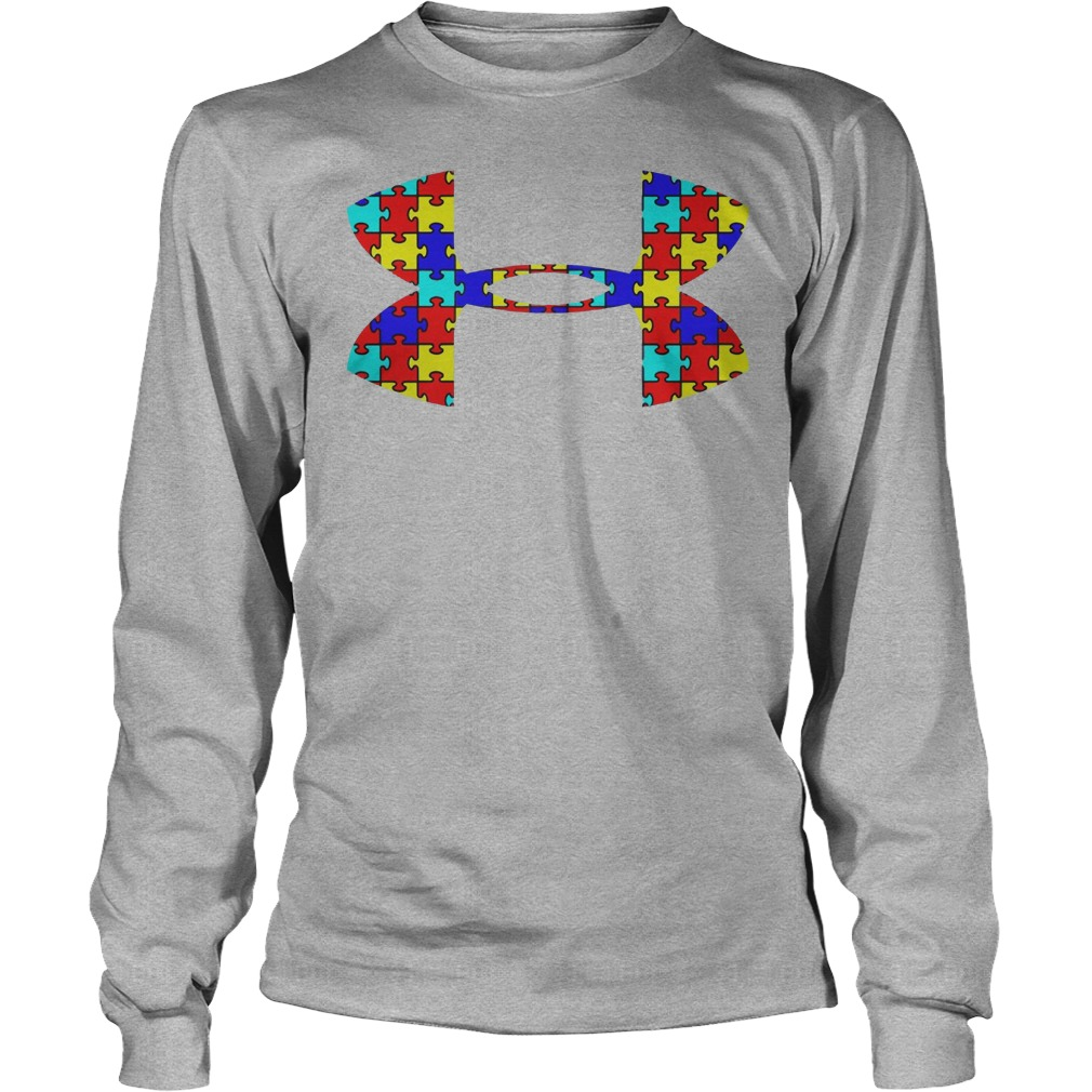 Autism Under Armour Longsleeve