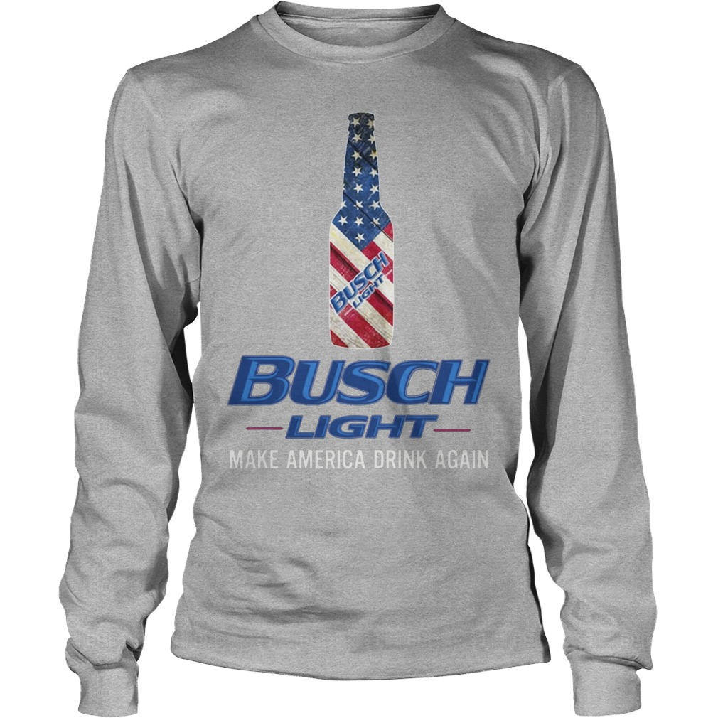 Busch Light Make America Drink Again Longsleeve