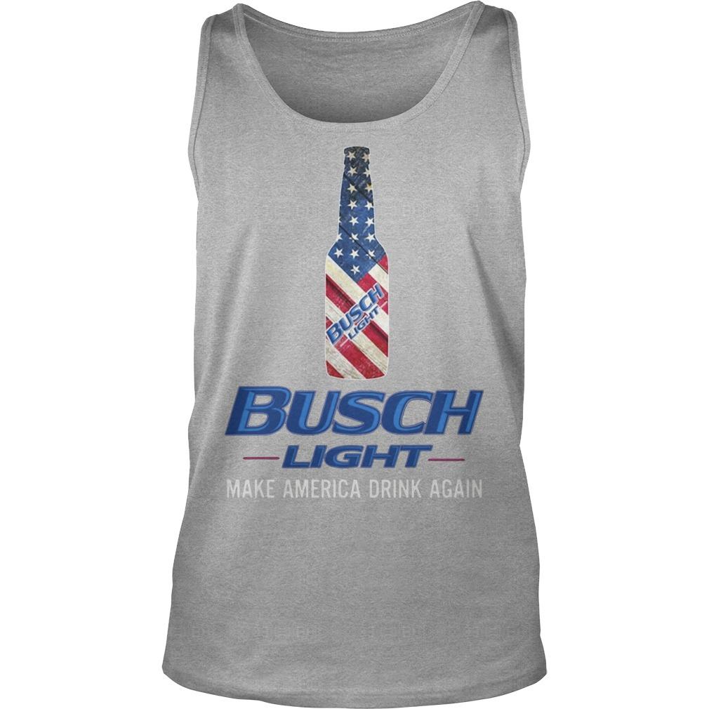 Busch Light Make America Drink Again Shirt, Longsleeve