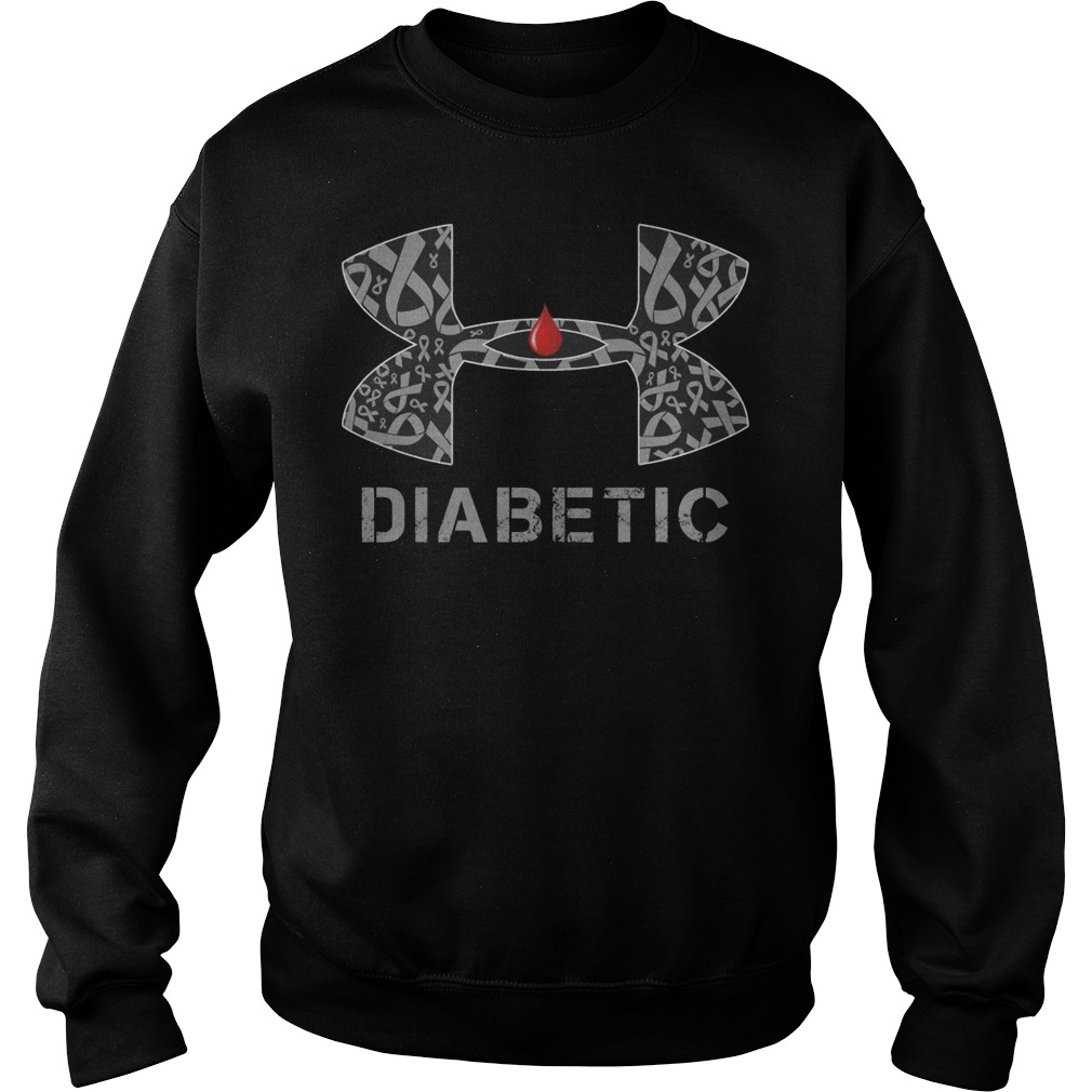 Cancer Diabetic Under Armour Sweater