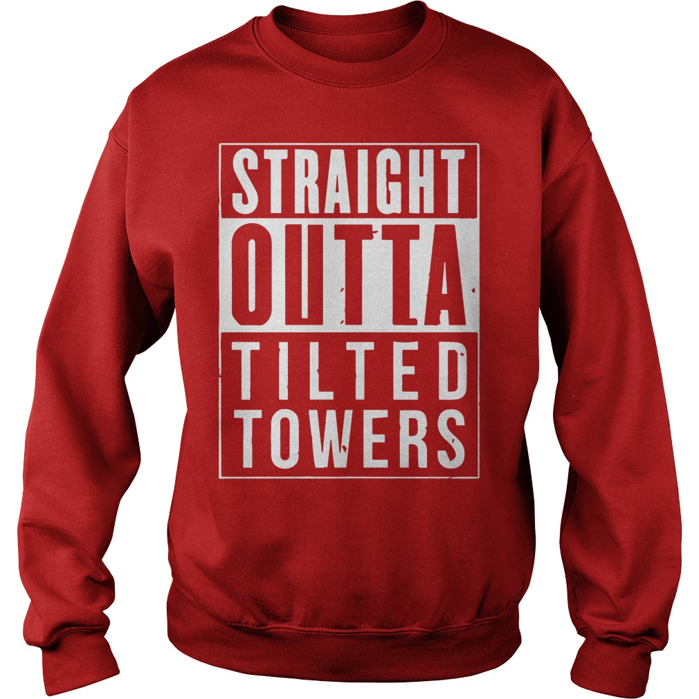 Straight Outta Tilted Towers Sweater
