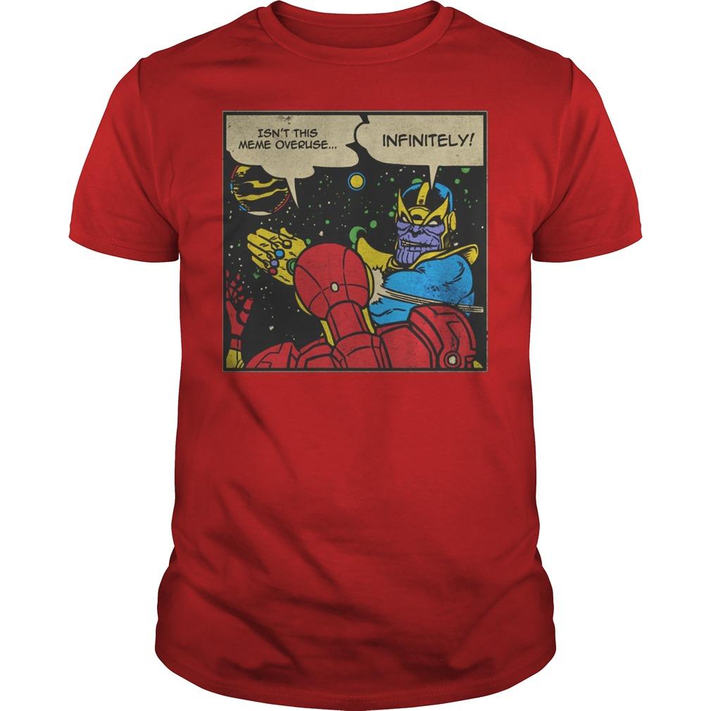 Thanos Infinite Slap Shirt