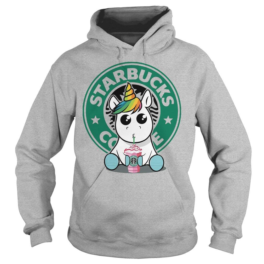 Unicorn Drink Starbucks Coffee Hoodie