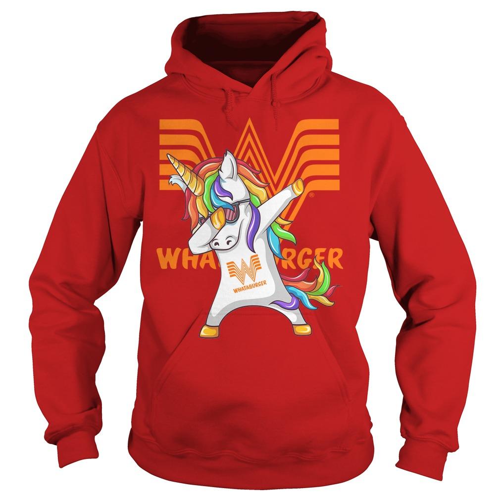 Unicorn Whataburger Dabbing Hoodie