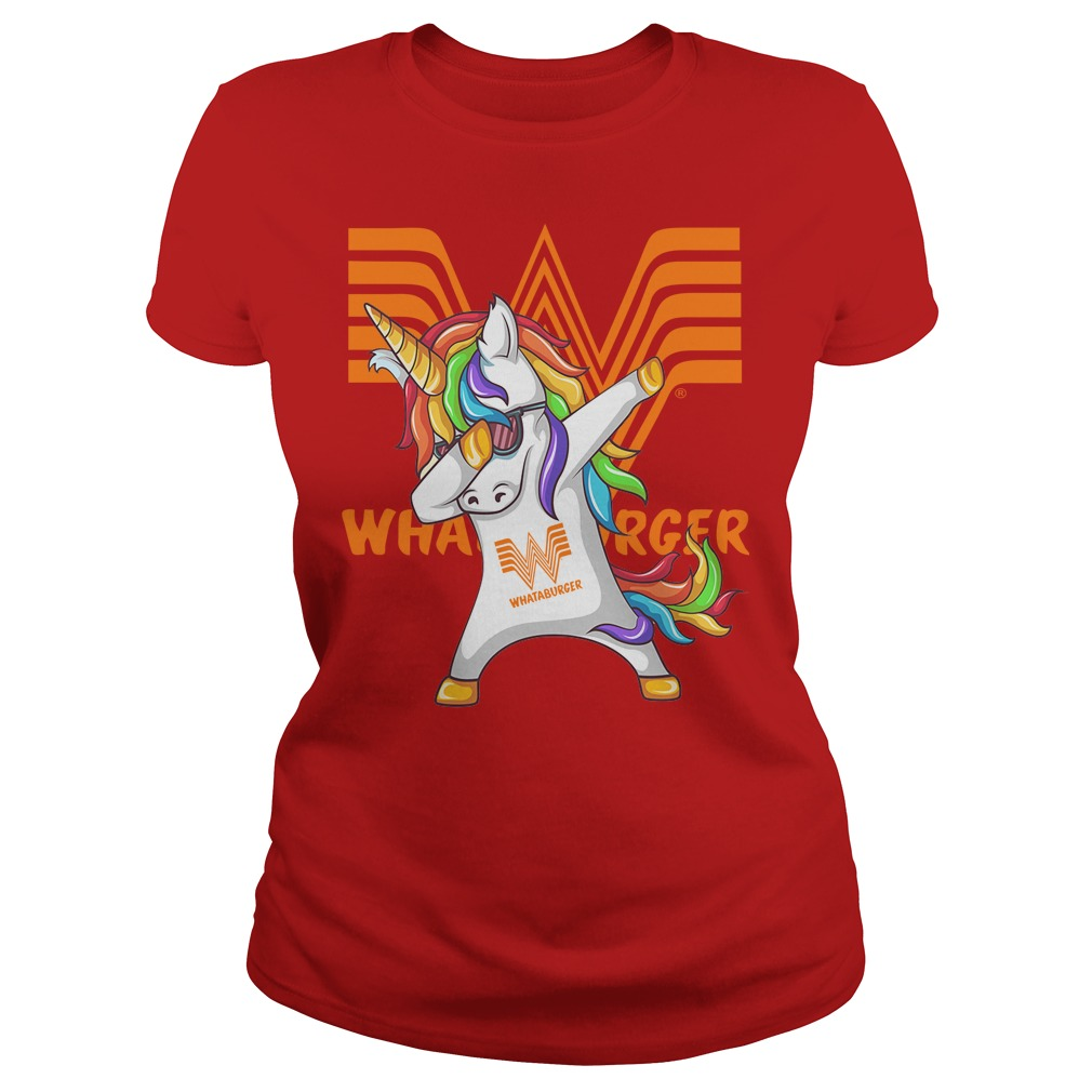 Unicorn Whataburger Dabbing Ladies