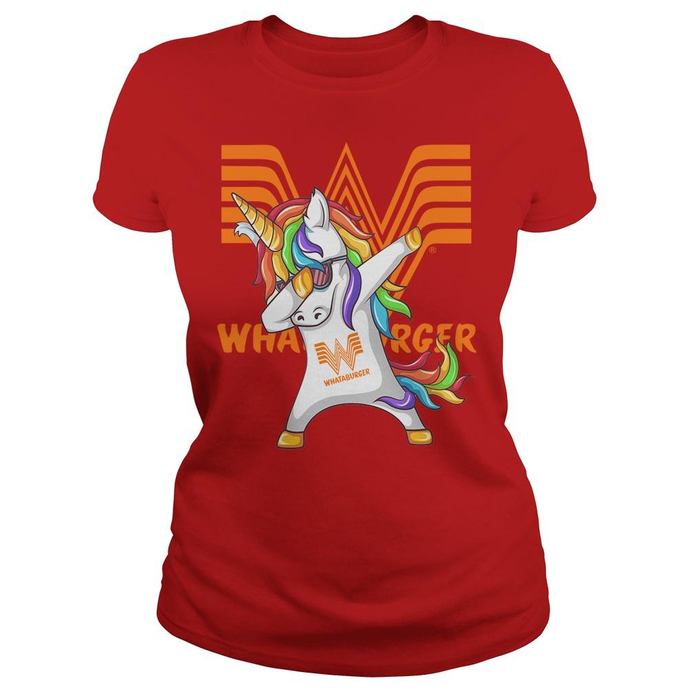 Unicorn Whataburger Dabbing Ladies
