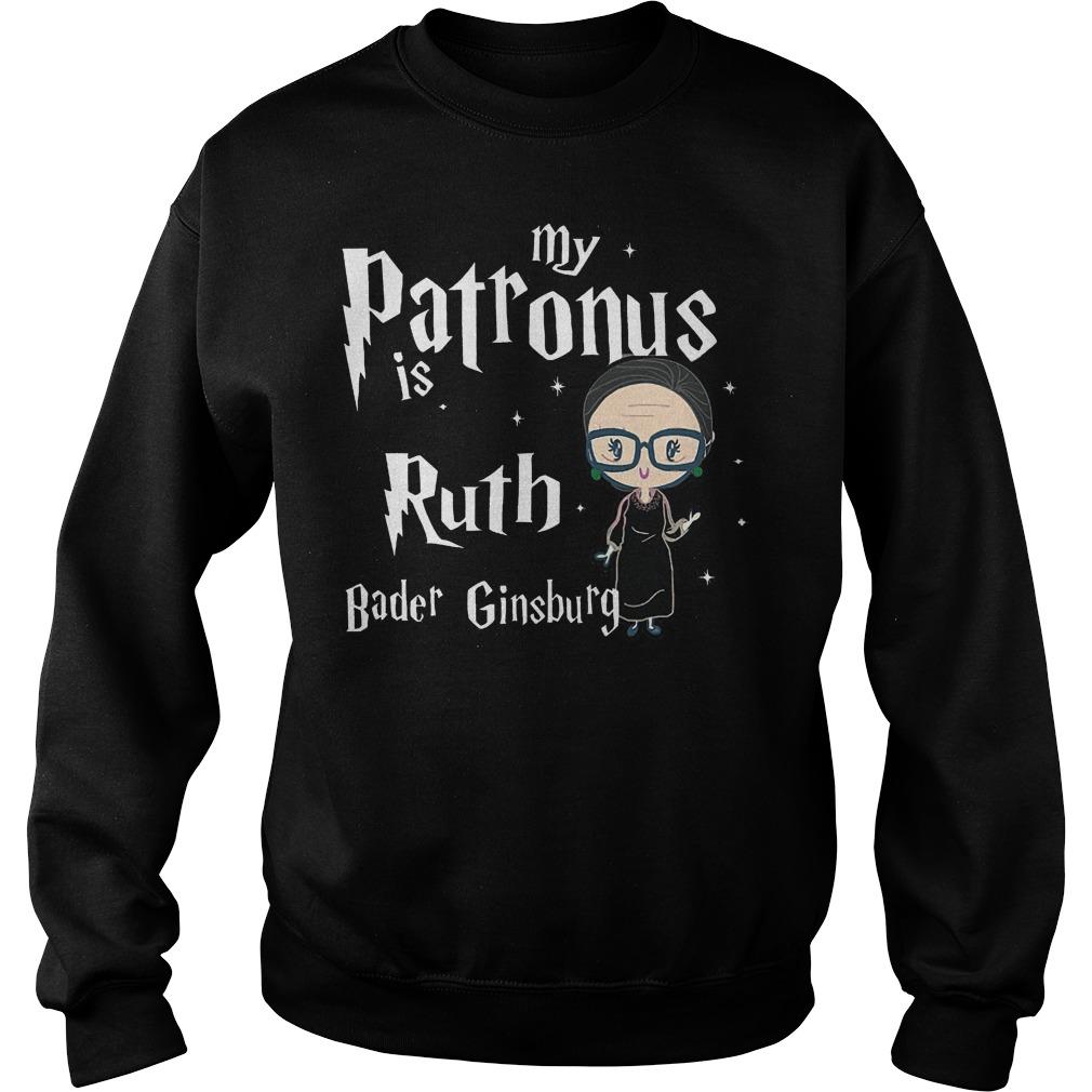 My Patronus Is Ruth Bader Ginsburg Sweater