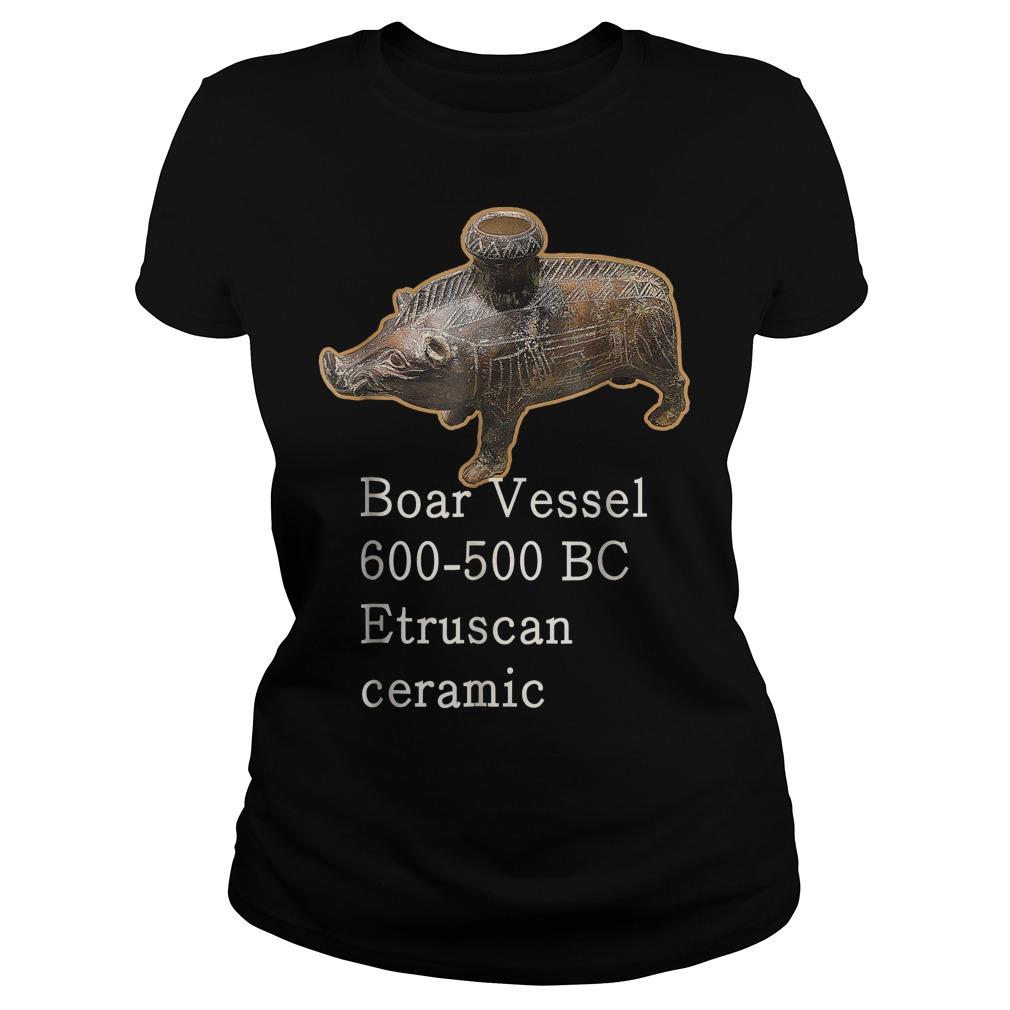 Boar Vessel 600 700 Bc Etruscan Ceramic Ladies