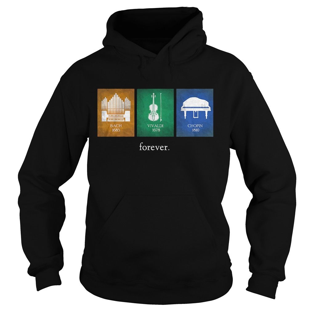 Classical Music Composers Instruments Hoodie