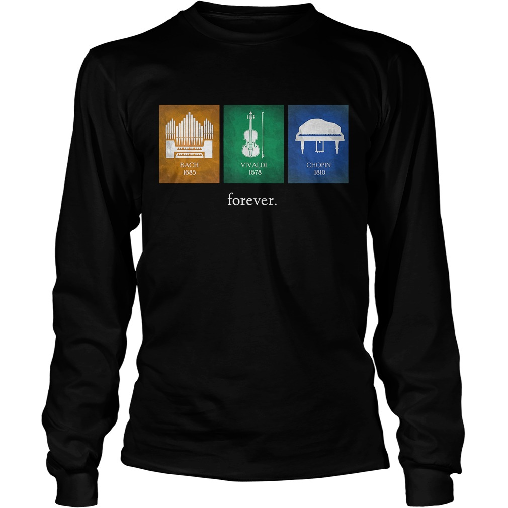 Classical Music Composers Instruments Longsleeve