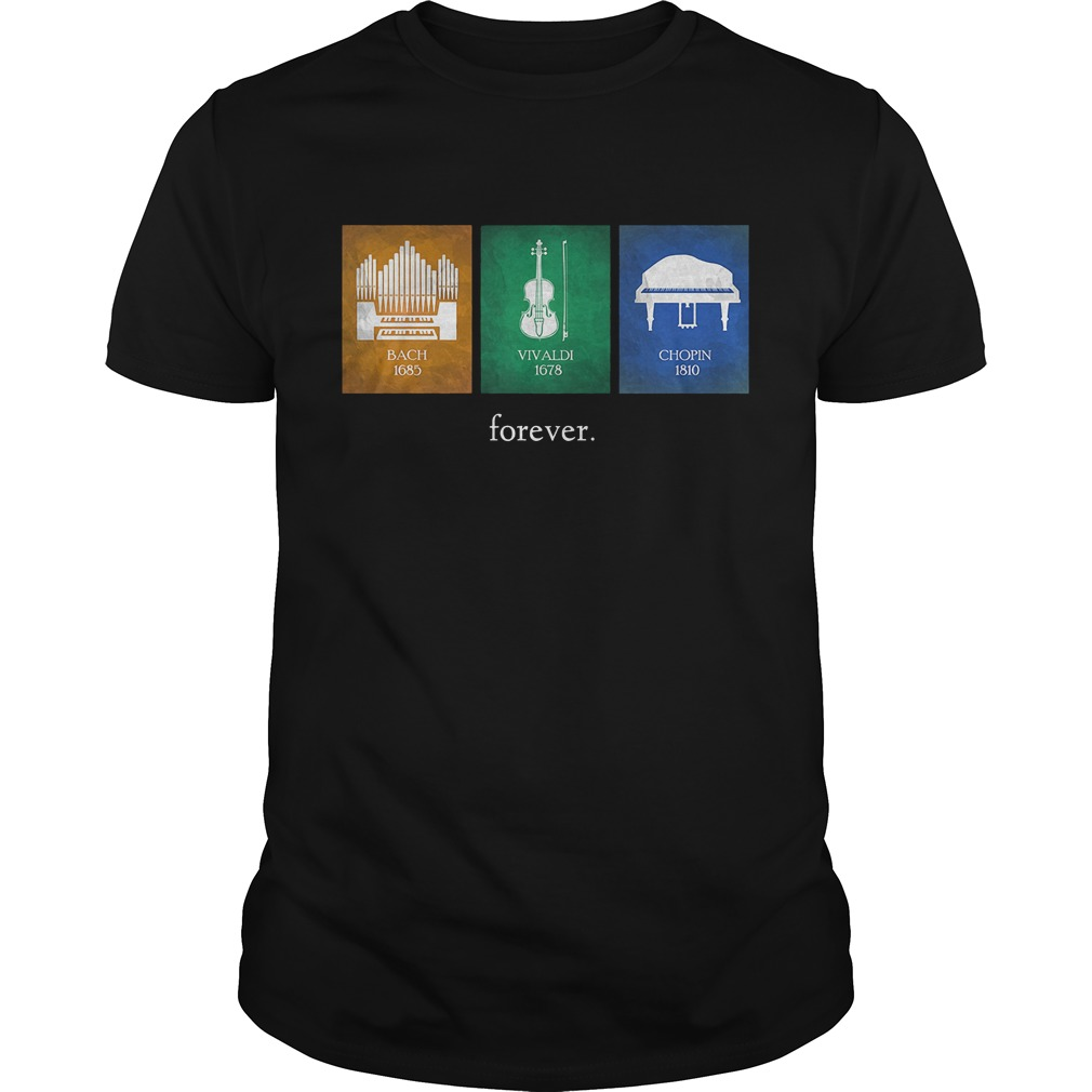 Classical Music Composers Instruments T Shirt